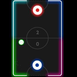 Glow Hockey Online Play Free Puzzle Game On Friv10play