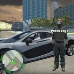 Crazy GTA Mercenary Driver