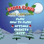 Santa Claus save the Christmas