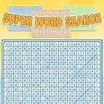 Super Word Search Game